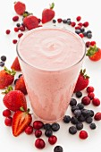 A berry smoothie