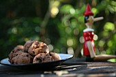 Chocolate biscuits and Pinocchio
