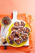 Chocolate Hazelnut Flourless Muffins