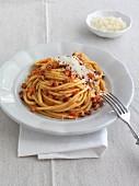 Spaghettoni all Amatriciana