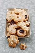 Gluten-free cornflour biscuits