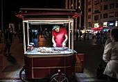 Maronen-Verkauf in Galatarsaray, Istanbul