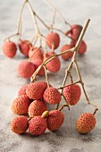 Lychees on a sprig