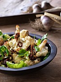 Moroccan-style cauliflower and Brussels sprouts