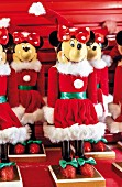 Walt Disney World – Christmas Minnie Mouse toys, Florida, USA