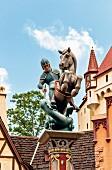 Walt Disney World - Heiliger Georg der Drachentöter, Florida, USA