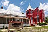 Methodist church, Florida Panhandle, USA