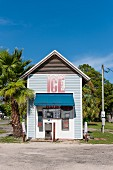 Self-service ice-cream shop, Florida Panhandle, USA