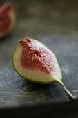 A fig wedge