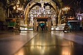 The Golgotha Altar at the Church of the Holy Sepulchre, Jerusalem, Israel