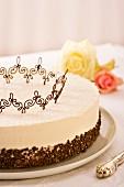 Raffaello cake (coconut cake)