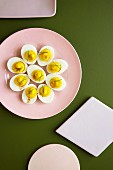 Stuffed eggs with mayonnaise