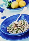 Zuppa con ceci e castagne (lentil soup with chestnuts, Italy)