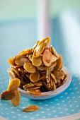 Kürbiskerne in Honig karamellisiert