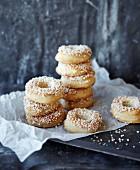 Sugar rings, stacked