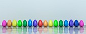 Colourful eggs