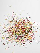 Coloured sprinkles