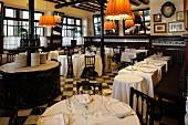 The restaurant '7 Portes', Barcelona, Spain