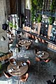 The restaurant Alancha, Istanbul, Turkey