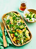 Polenta-Rosenkohl-Salat