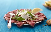 Steak carpaccio