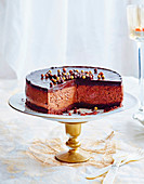 Mousse au chocolat cake with Tia Maria