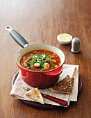 Tuscan bean and beef soup
