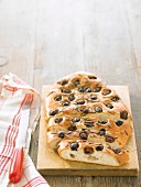 Olive and rosemary focaccia