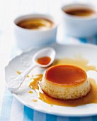Low-fat creme caramel