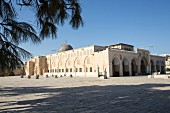 Tempelberg Al-Aksa-Moschee, Jerusalem, Israel