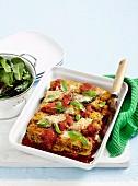 Zucchini parmgiana