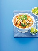 Clever chook - Quick chicken Laksa