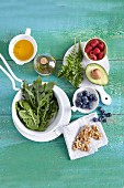 Obst, Gemüse, Öl & Kerne (Superfood)