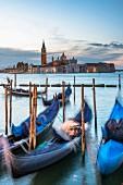 Blick auf die Insel San Giorgio Maggiore, Venedig, Italien