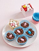 Easter crackle nests