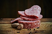 Cotto Salami with garlic, black peppercorns and nutmeg