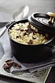 Truffle risotte