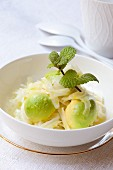 Fennel and avocado salad