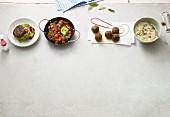 Vier schnelle Hackfleischgerichte in der Paleo-Diät