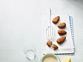 Vegetarische Blumenkohl-Falafel mit Leinsamen (Paleo-Diät)