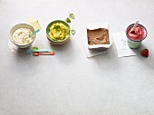 Four quick ice cream creations for the Paleo diet