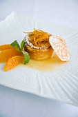 Tortino con crema die arancia (orange cream tartlet, Italy)