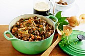 Beef goulash with Guinness