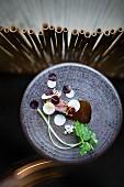 Roast Wagyu miso beef by Chef Yoshizumi Nagaya, Restaurant 'Nagaya', Düsseldorf