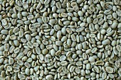 Green coffee beans (full frame)