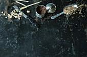 Lemongrass, cocoa nibs and quinoa