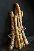 A bundle of baguettes
