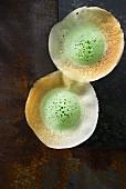Appams (green rice flour pancakes, Indonesia)