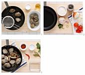 Muscheln im Gemüsesud zubereiten