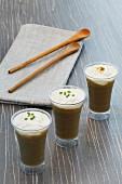 Lentil cappuccinos